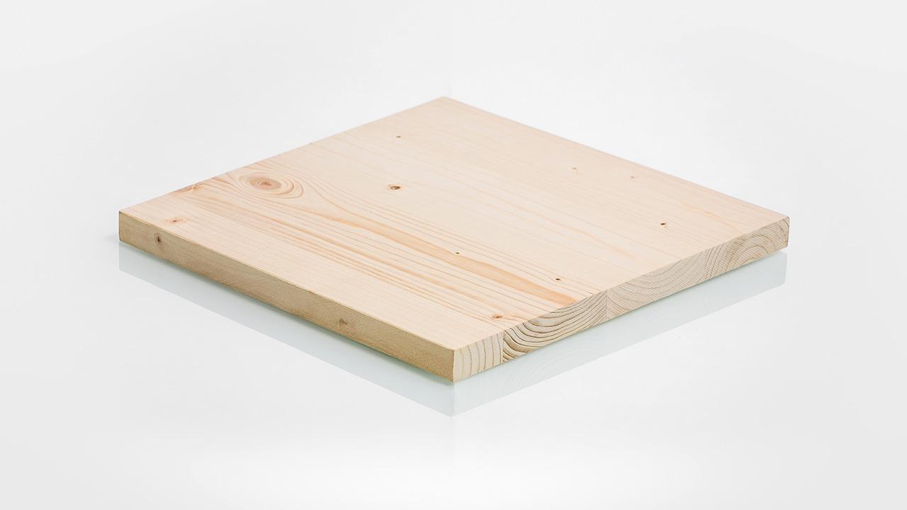 Massivholzplatten - einschichtig