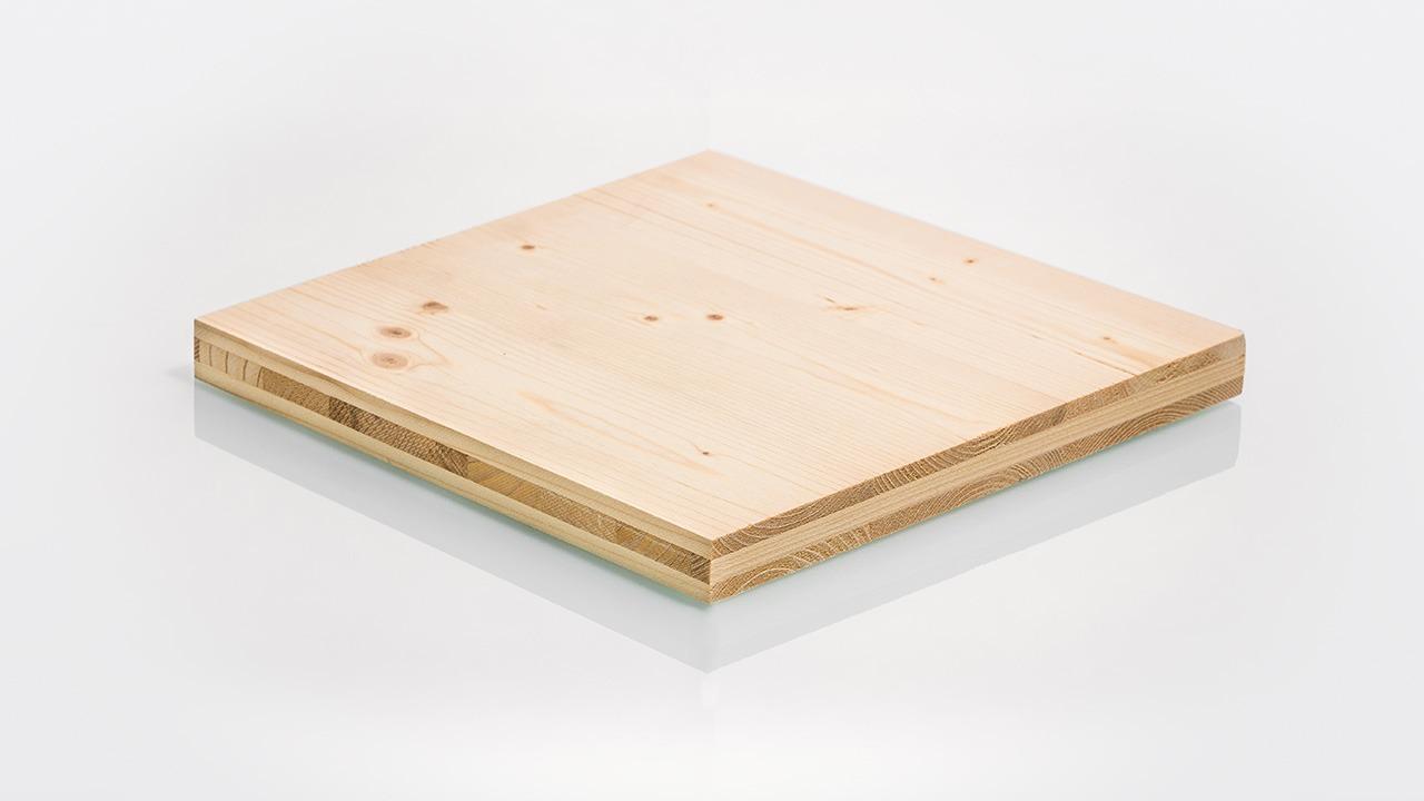 Massivholzplatten - dreischichtig